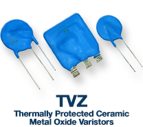 Thermally Protected Varistors Sincera Brand