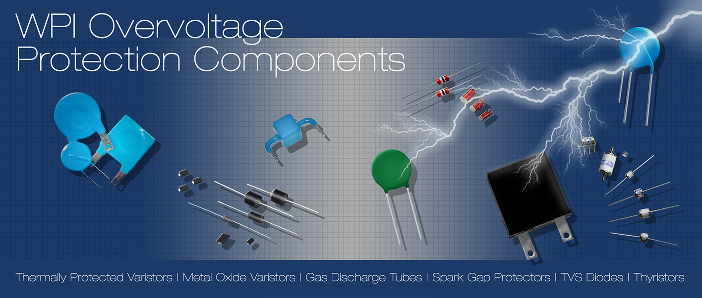 WPI Over Voltage Protection Components